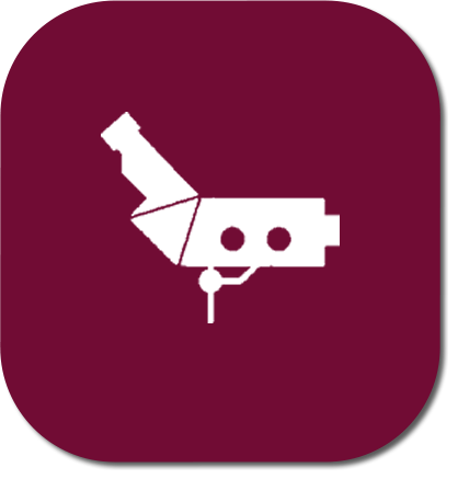 icone de colposcopia com biopsia